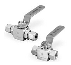 105 Series: High Pressure Ball Valves