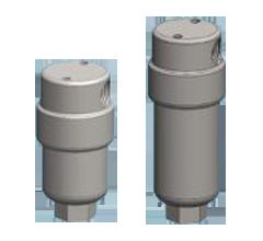 316L Rustfri filterhuse