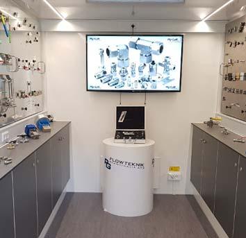 Få besøg af vores mobile  showroom