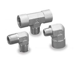 Instrument gevind fittings