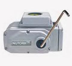 Nutork elektriske og luftstyrede akturatorer