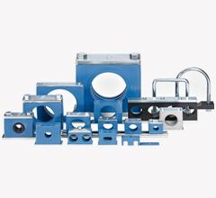 Rörhållare i plast eller aluminium