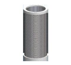 Rustfri filterelementer